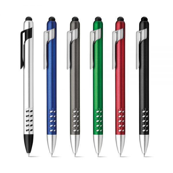 Kemijska olovka sa dodirnim vrhom i držačem za mobitel S12582