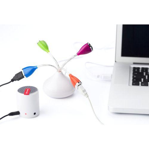 RAZDJELNIK USB  S ČETRI IZLAZA 2.0 5957