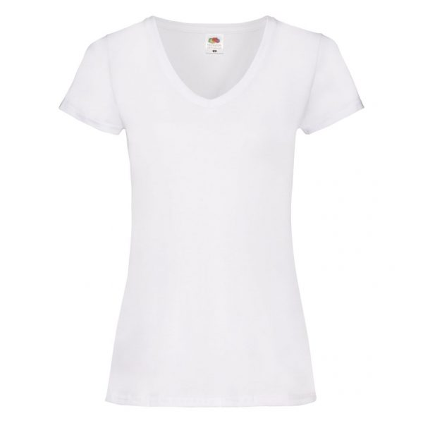 FRUIT OF THE LOOM MAJICA VALUEWEIGHT V-NECK LADY FIT ŽENSKA 61398 30