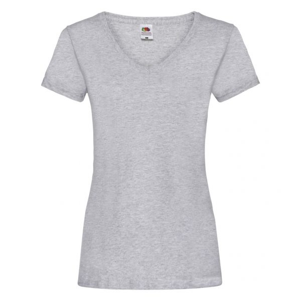 FRUIT OF THE LOOM MAJICA VALUEWEIGHT V-NECK LADY FIT ŽENSKA 61398 94