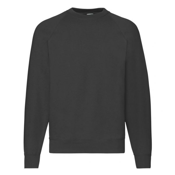 FRUIT OF THE LOOM PULOVER CLASSIC RAGLAN 80/20 62216 36