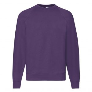 FRUIT OF THE LOOM PULOVER CLASSIC RAGLAN 80/20 62216 PE