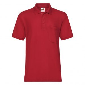 FRUIT OF THE LOOM MAJICA POLO S DŽEPOM 65/35 63308 40