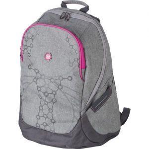 Two-tone PVC (300D) backpack 7785