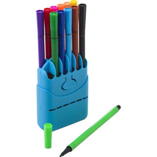 12 water-based felt tip pens 7803