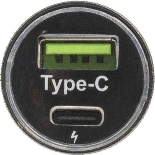 PUNJAČ ZA AUTO USB/C 8268