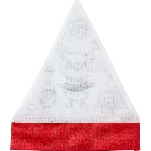 Nonwoven (80 gr/m²) Christmas hat 8291