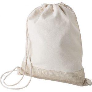 Cotton drawstring backpack 9275