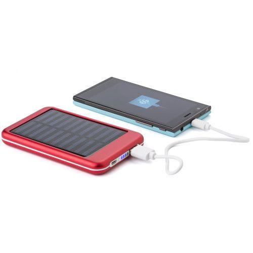 Aluminium solar power bank 9332