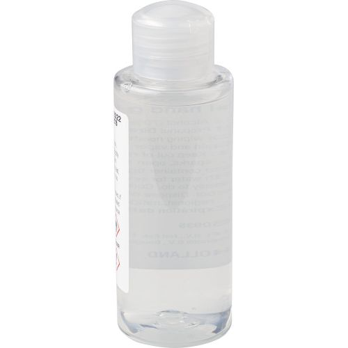 Hand gel bottle (100 ml) with 70% alcohol 9372