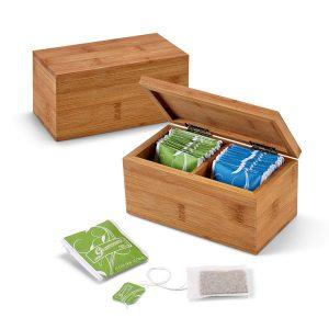 Kutija za čaj od bambusa S93995