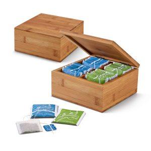 Kutija za čaj od bambusa S93996