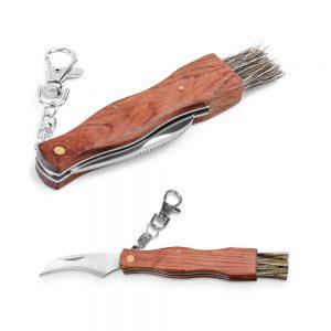 Džepni nož od nehrđajućeg čelika i drveta S94033