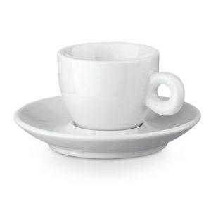 Keramička šalica za kavu sa tanjurićem S94674