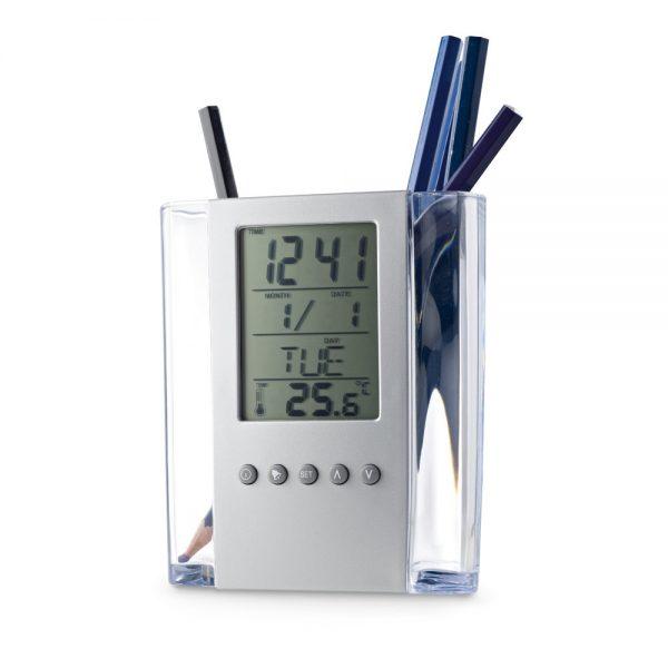 Držač kemijske olovke sa digitalnim satom S97065
