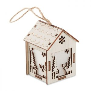 MDF house with light PONIA CX1463-40