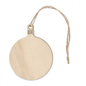 Wooden MDF Tree bauble hanger BALY CX1473-40