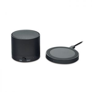 Wireless chargeable speaker ROUND LESS MO9713-03