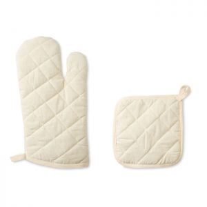 Oven glove and pot holder set MITTY MO9876-13