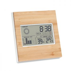 Weather station bamboo front TURKU MO9959-40
