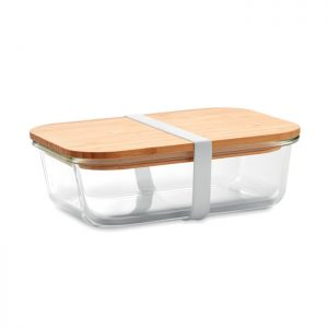 Glass lunchbox with bamboo lid TUNDRA LUNCHBOX MO9962-22