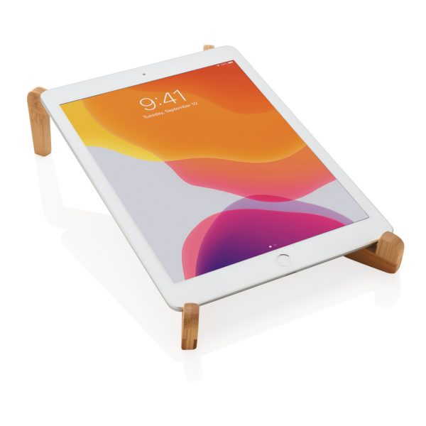 Bamboo portable laptop stand P262.019