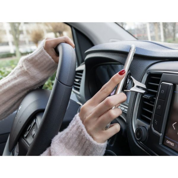 Car air vent phone holder with ring P301.091