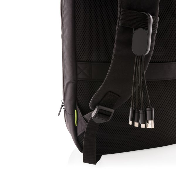 4-in-1 cable with carabiner clip P302.071