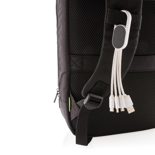 4-in-1 cable with carabiner clip P302.073