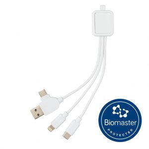 6-in-1 antimicrobial cable P302.303