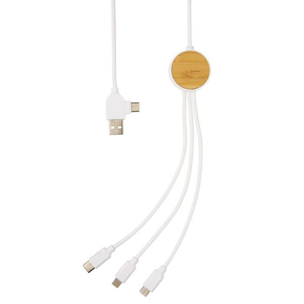 Ontario 1.2 metre 6-in-1 charging cable P302.413