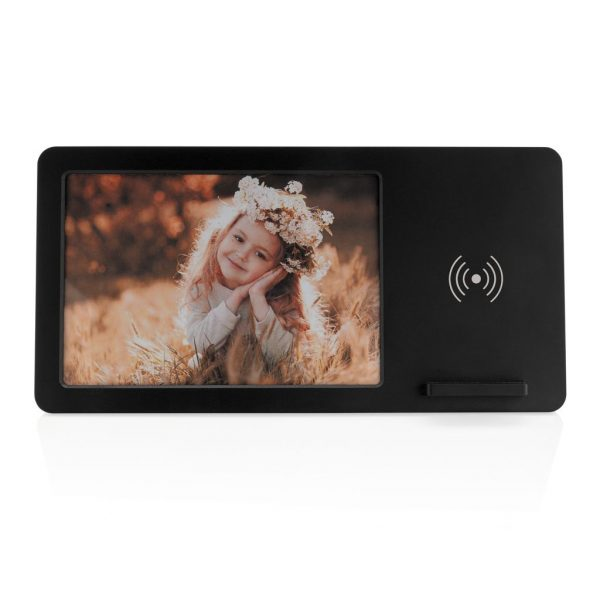 5W Wireless charger and photo frame P308.041