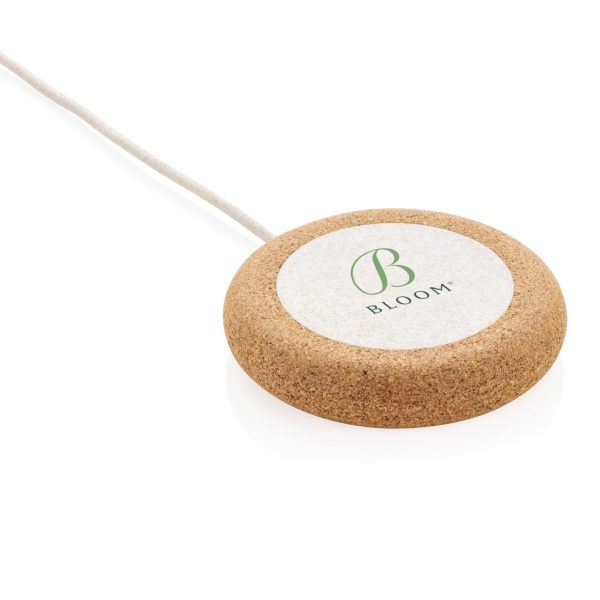 Cork and Wheat 5W wireless charger P308.099