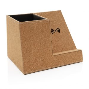 Cork pen holder and 5W wireless charger P308.199