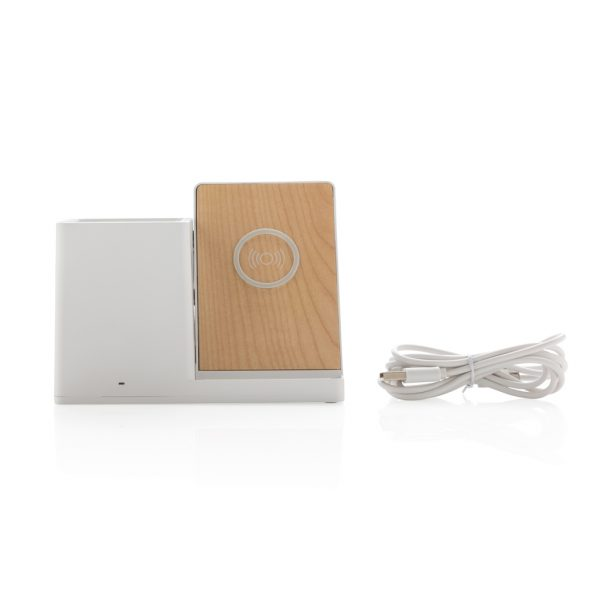 Ontario 5W wireless charger with pen holder P308.853