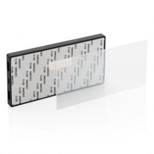 Tempered glass 5.000 mAh powerbank P322.101