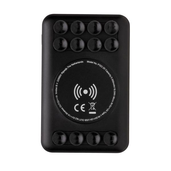 5.000 mAh wireless charging pocket powerbank P322.201