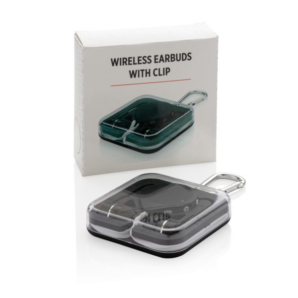 Wireless earbuds with clip P326.571