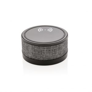 Fabric wireless charger with speaker P328.091
