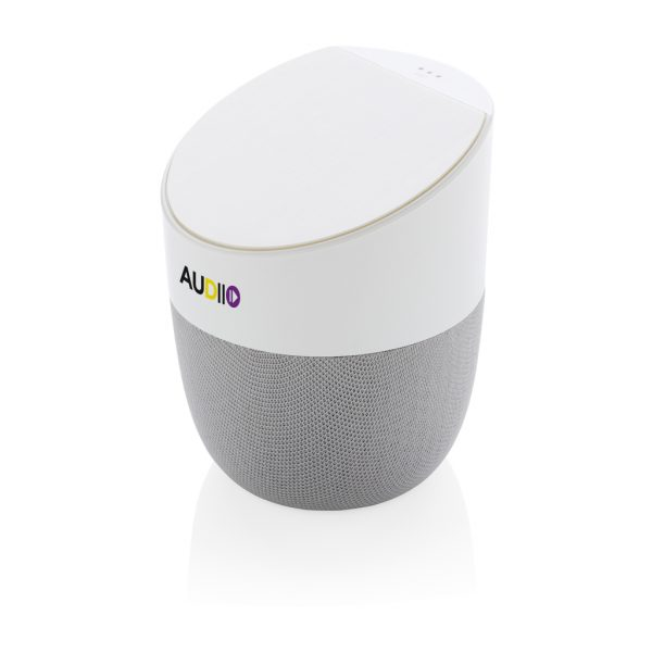 Home speaker with wireless charger P328.123