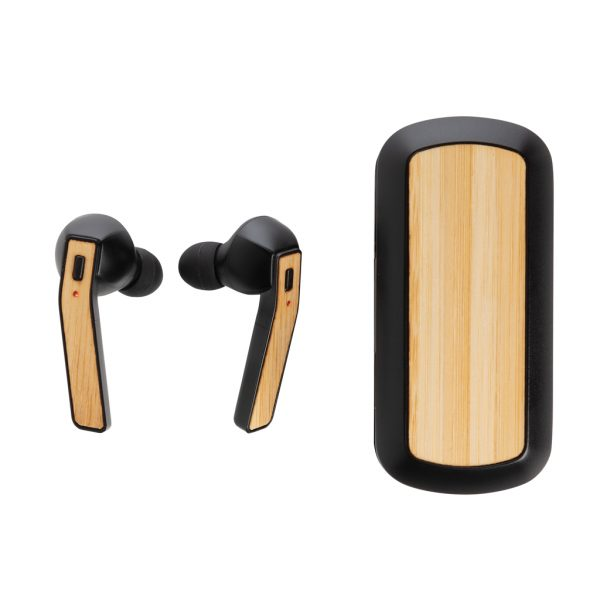 Bamboo Free Flow TWS earbuds in case P329.061