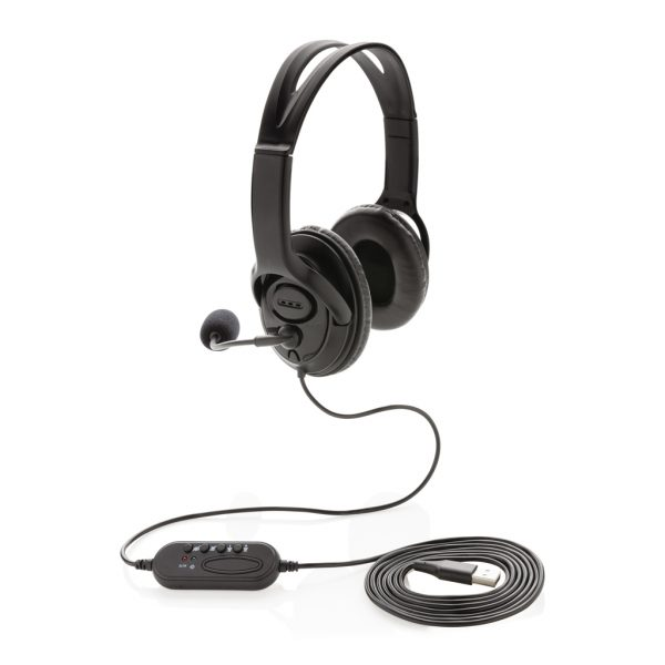 Over ear wired work headset P329.151