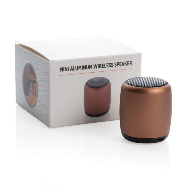 Mini aluminium wireless speaker P329.398