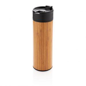 Bogota vacuum bamboo coffee mug P432.289