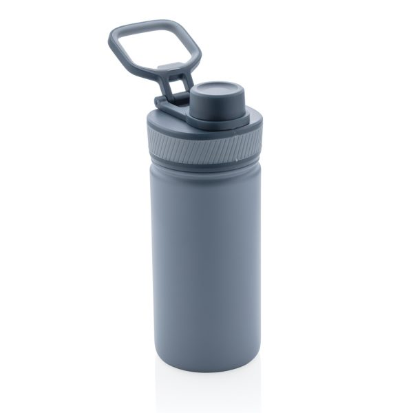 Vacuum stainless steel bottle with sports lid 550ml P436.195