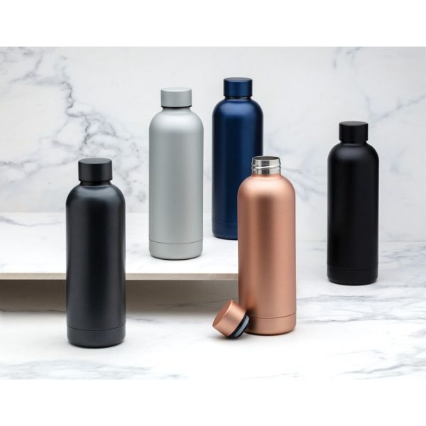 Impact stainless steel double wall vacuum bottle P436.370