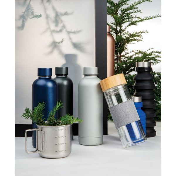 Impact stainless steel double wall vacuum bottle P436.371