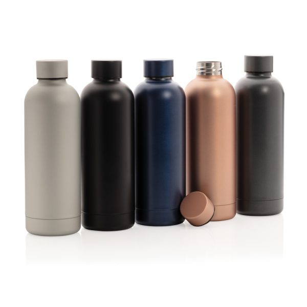 Impact stainless steel double wall vacuum bottle P436.372
