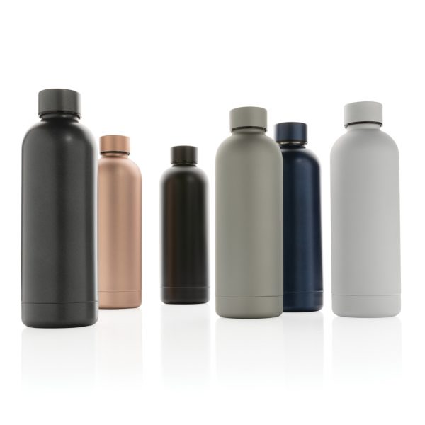 Impact stainless steel double wall vacuum bottle P436.373