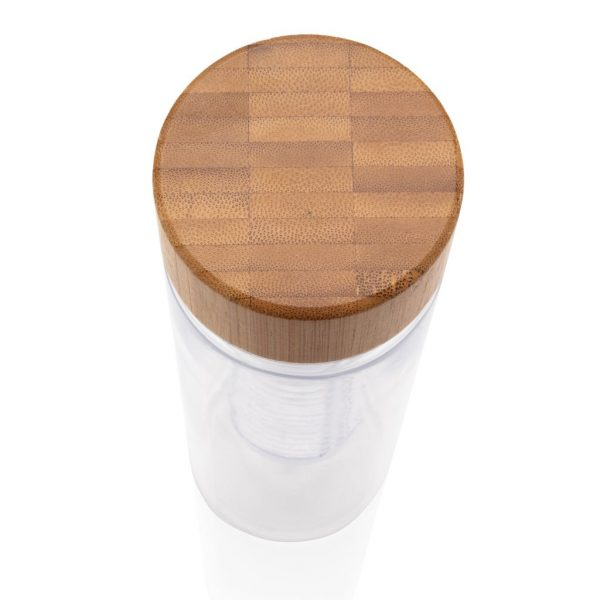Infuser bottle with bamboo lid P436.380